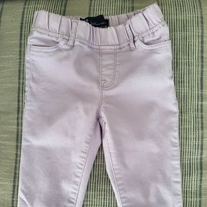 Gap kids size 7 lavender cropped jeggings
